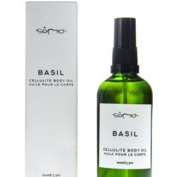 Ξηρό, ενυδατικό λάδι κατά κυτταρίτιδας - Basil