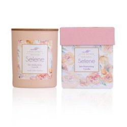LITTLE SECRETS Selene soya candle - Eνυδατικό, αρωματικό κερί με άρωμα σανταλόξυλο και αλμυρή καραμέλα