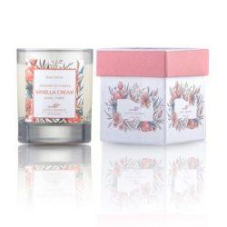 LITTLE SECRETS Vanilla soya candle - Eνυδατικό, αρωματικό κερί με άρωμα βανίλιας