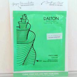 DALTON Blemish sheet mask - Μάσκα 1 χρήσης για το ακνεϊκό δέρμα
